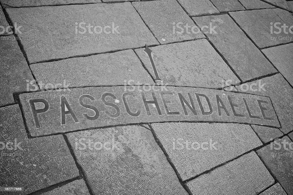 Passchendaele stock photo