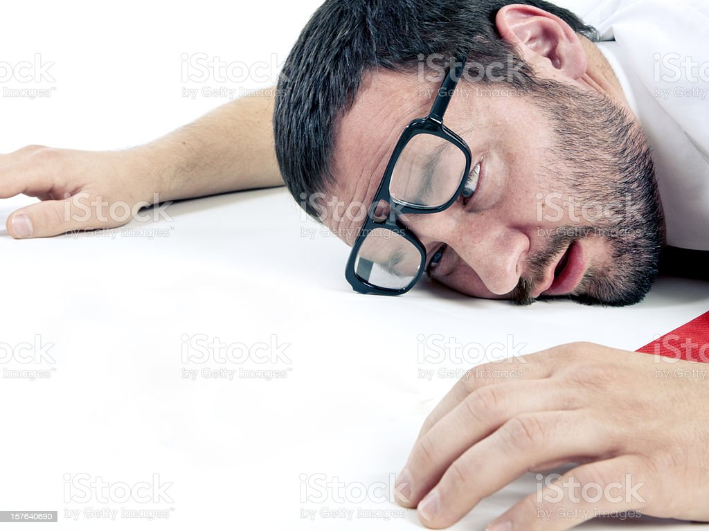 Passed Out royalty-free stock photo