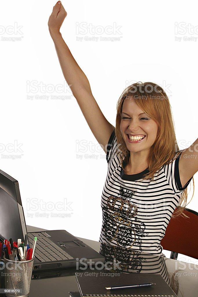 Passed the Exam!!! royalty-free stock photo