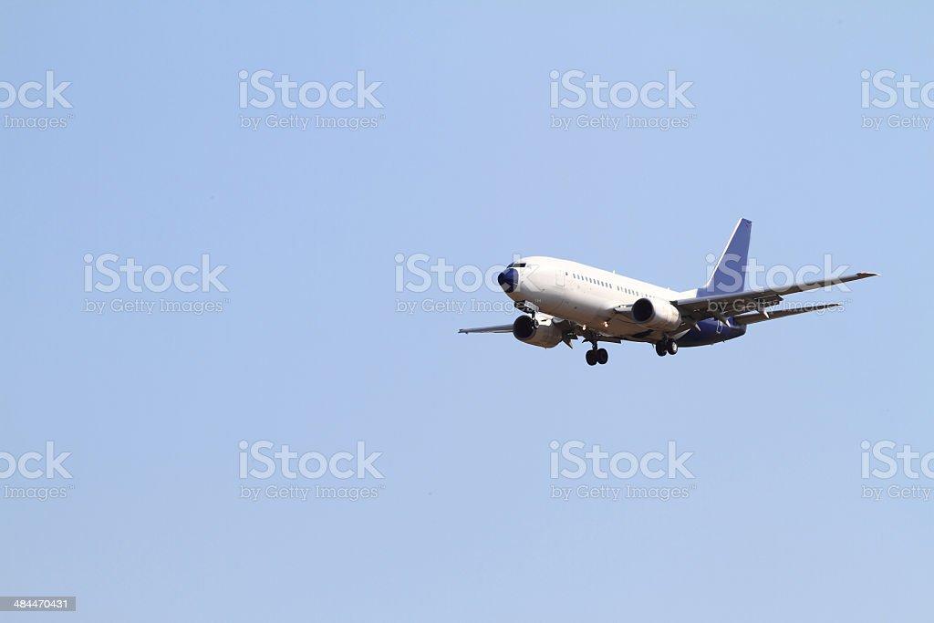 Passenger air stock photo