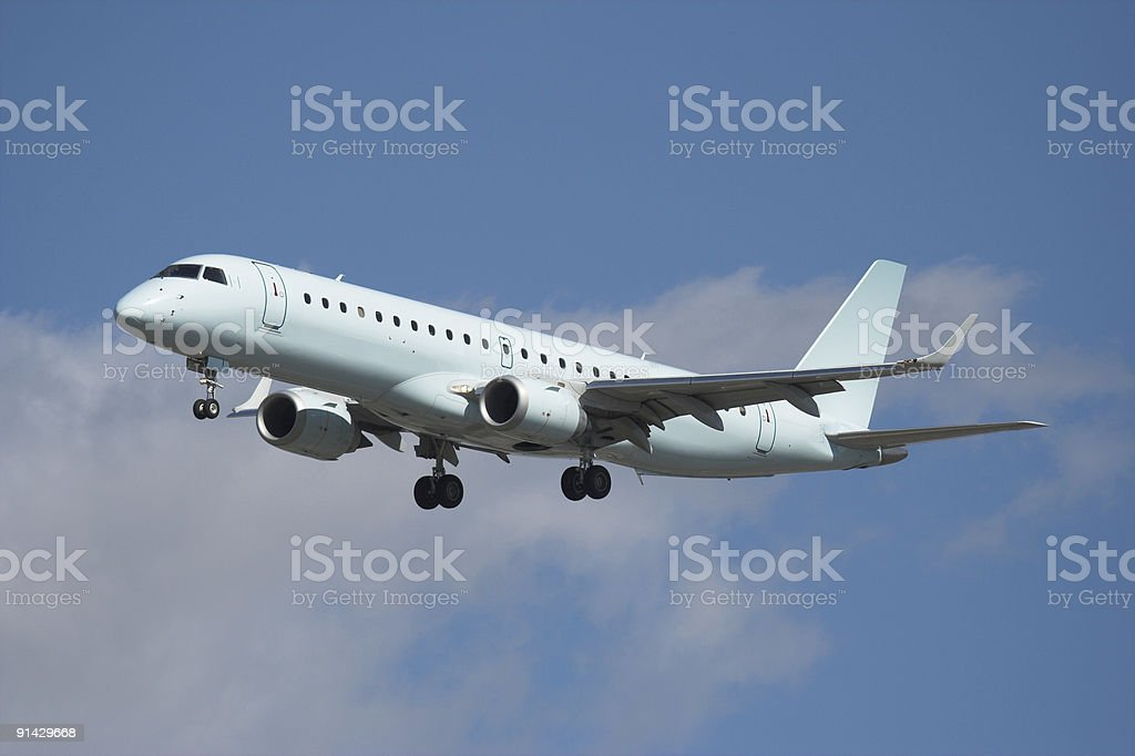 Passenger Airliner royalty-free stock photo