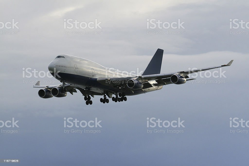 Passenger Airplane royalty-free stock photo