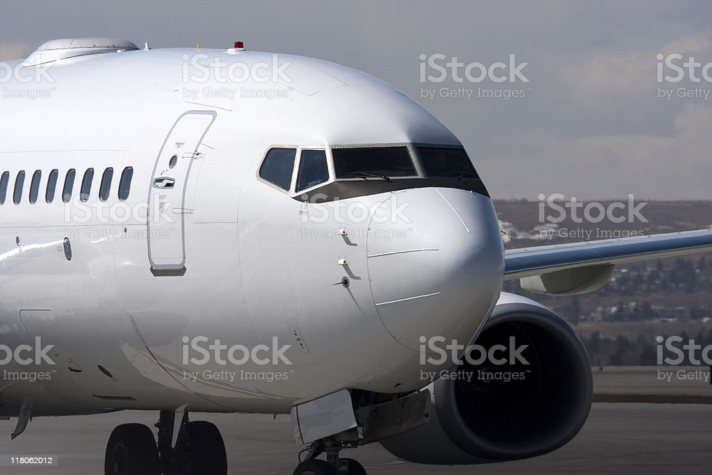 Passenger Airplane royalty-free stock photo