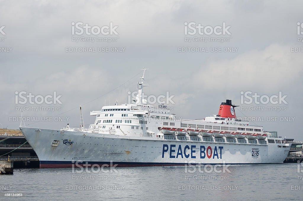 Passenger boat 'Oceanic' royalty-free stock photo