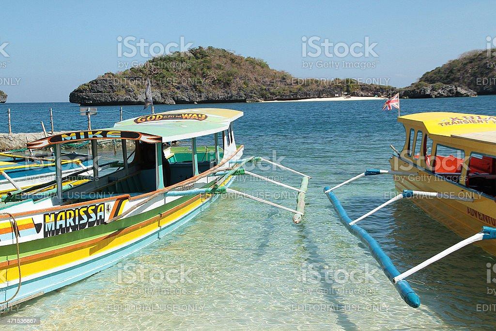 Passeggero imbarcazioni e Isole foto stock royalty-free