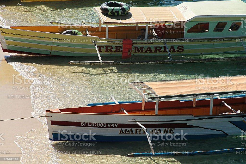 Imbarcazioni, passeggero foto stock royalty-free