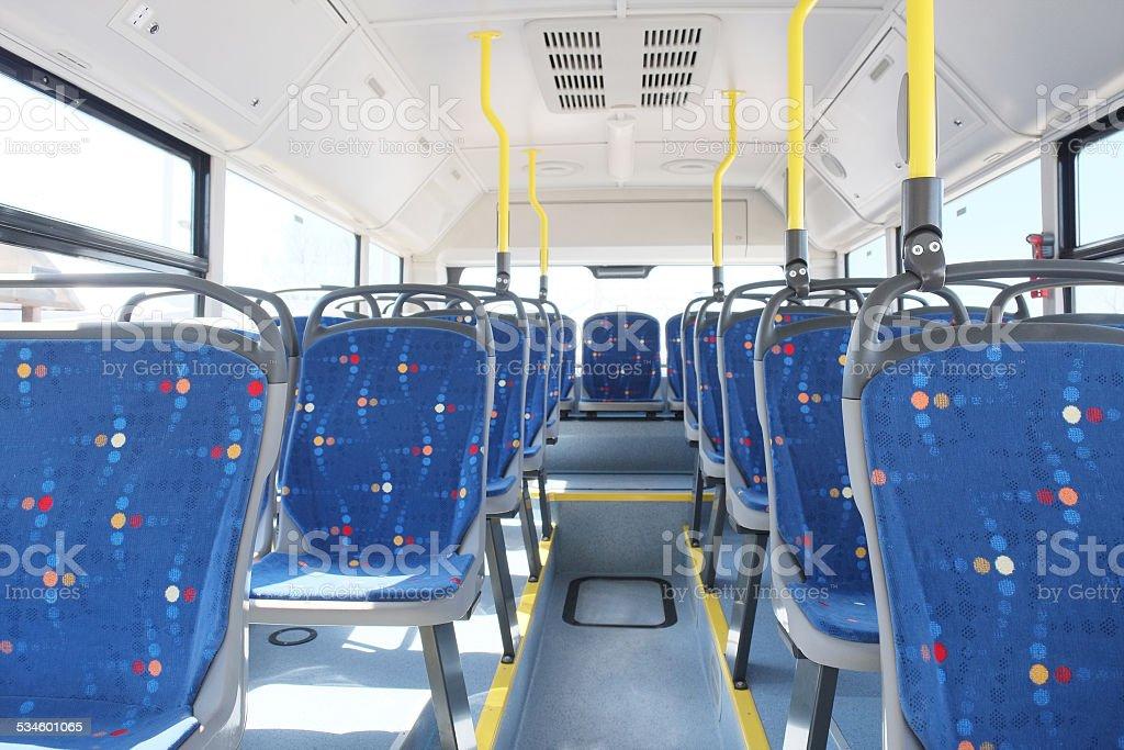 passenger compartment stock photo