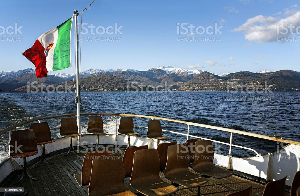 Passenger Craft royalty-free stock photo