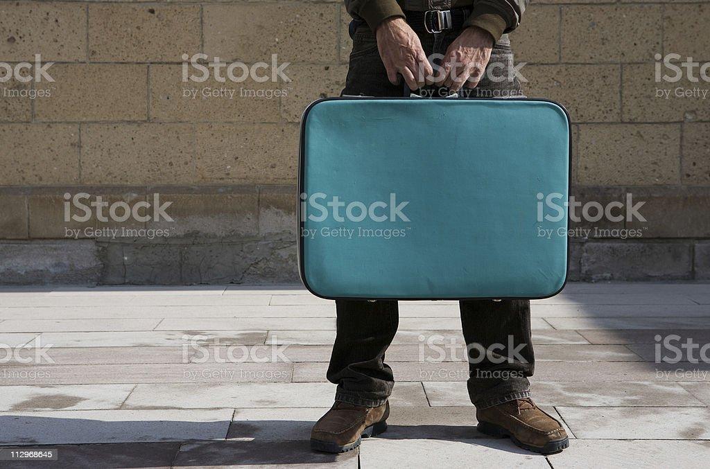 Passenger royalty-free stock photo