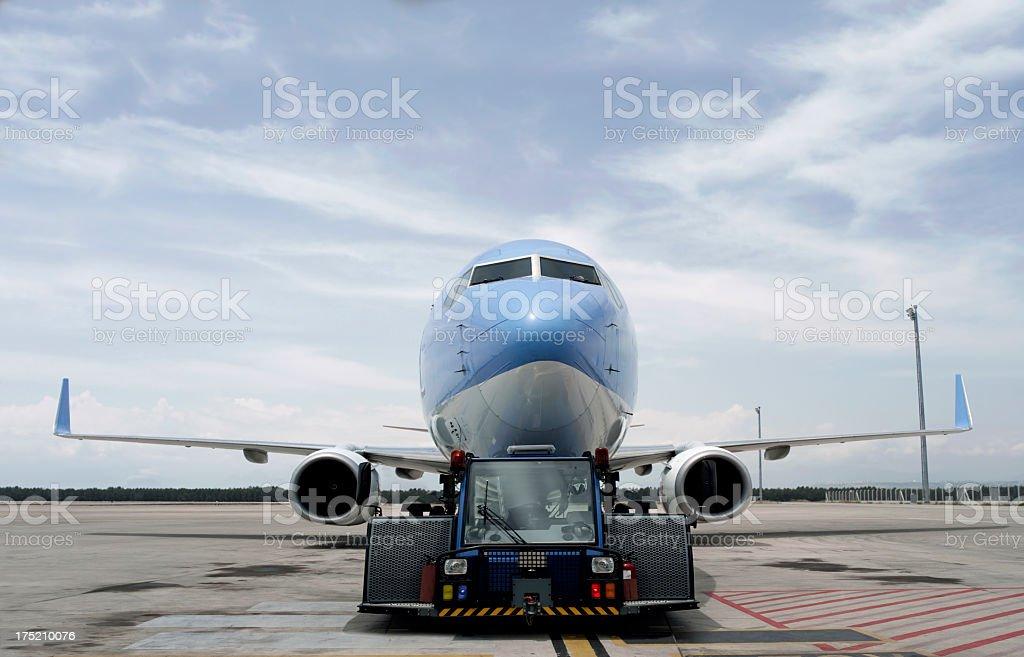 Passenger Plane royalty-free stock photo