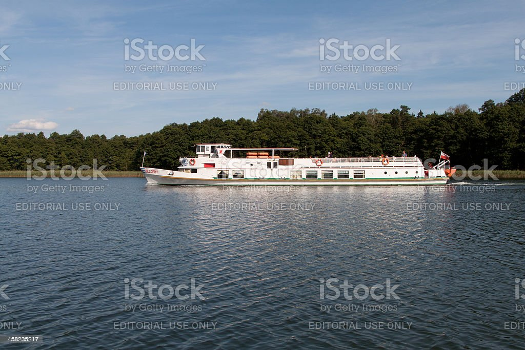 Passenger Ship royalty-free stock photo