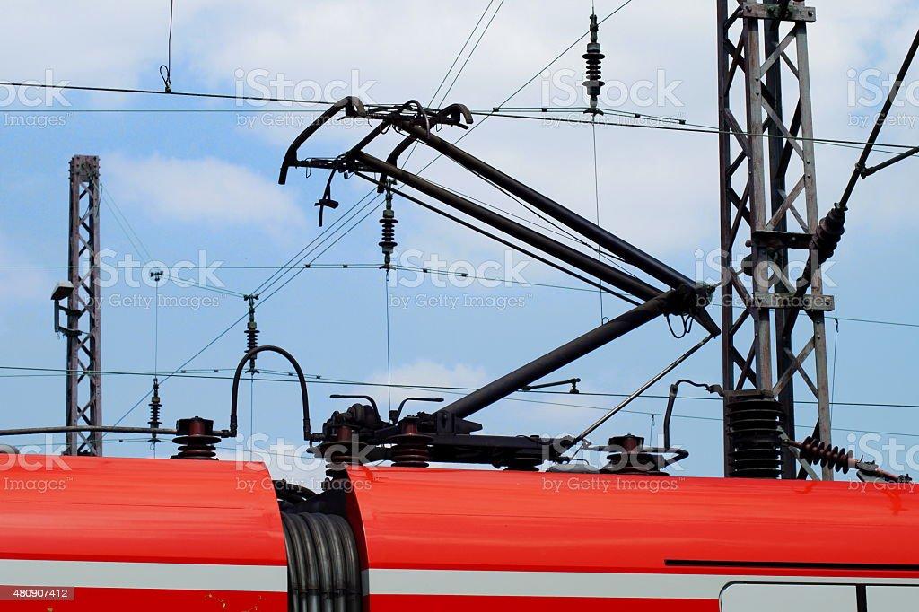 Ein Personenzug stock photo