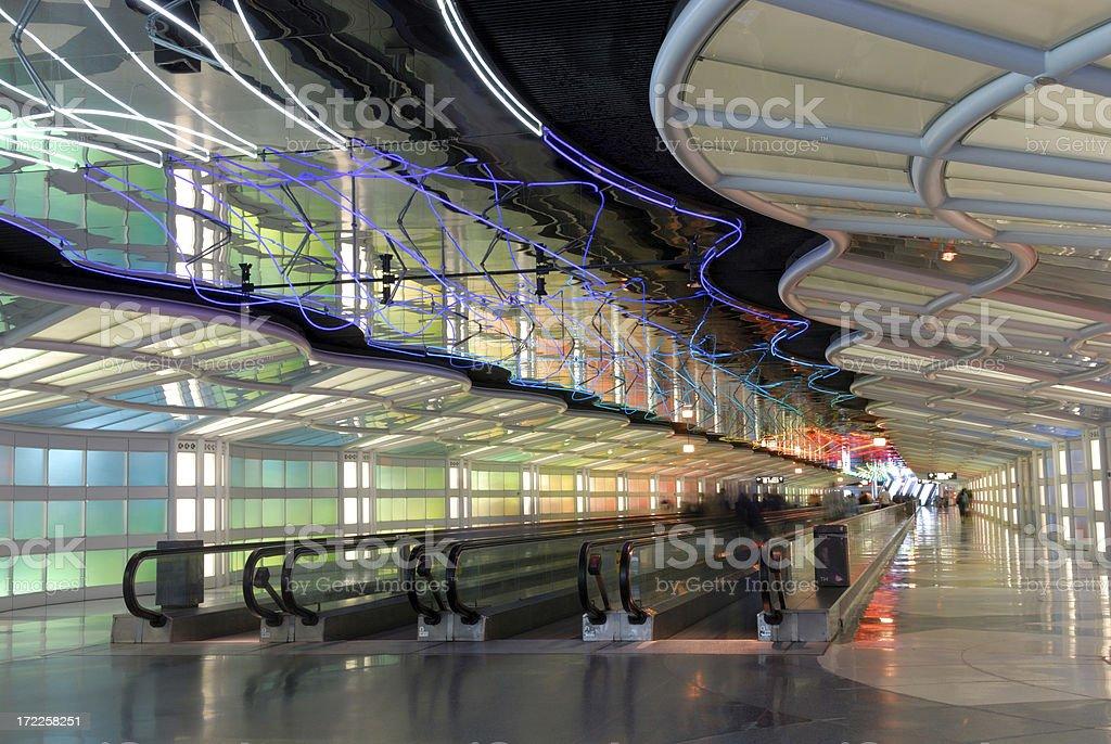 Passenger Tunnel 1 royalty-free stock photo