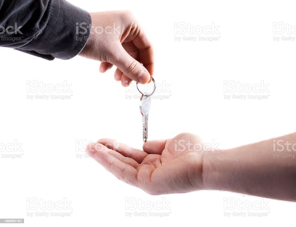 Passing Over the Keys stock photo