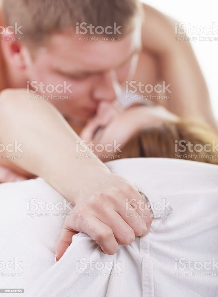 Passion couple royalty-free stock photo