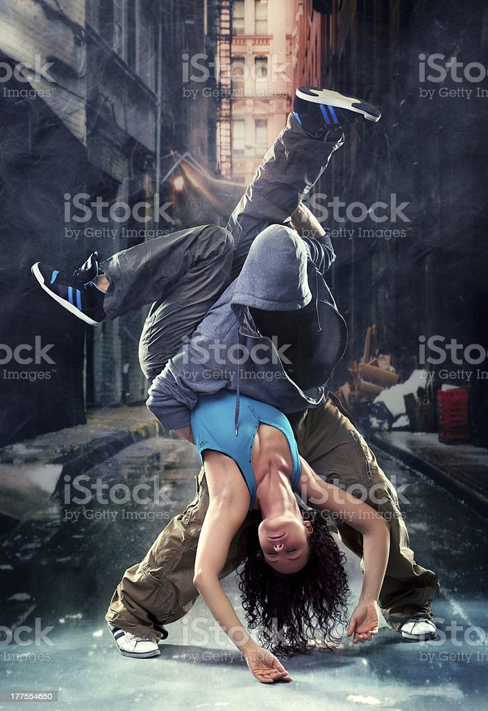 Passion dance couple royalty-free stock photo