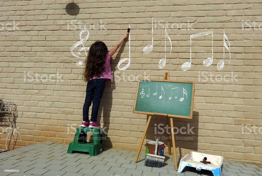 Passion for music stock photo
