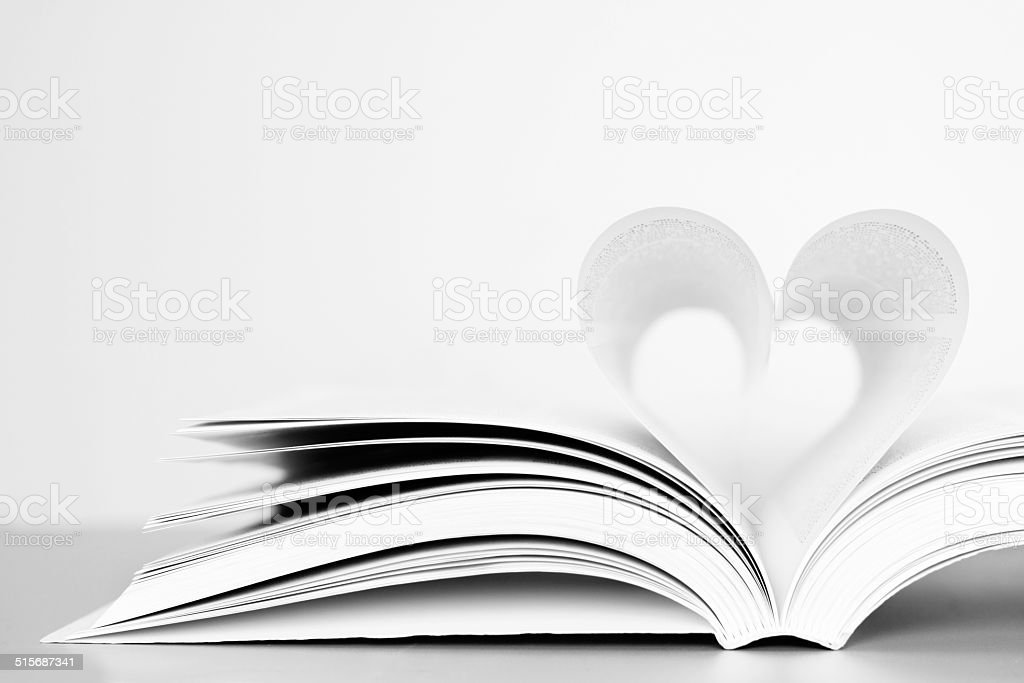 Passion for reading stock photo