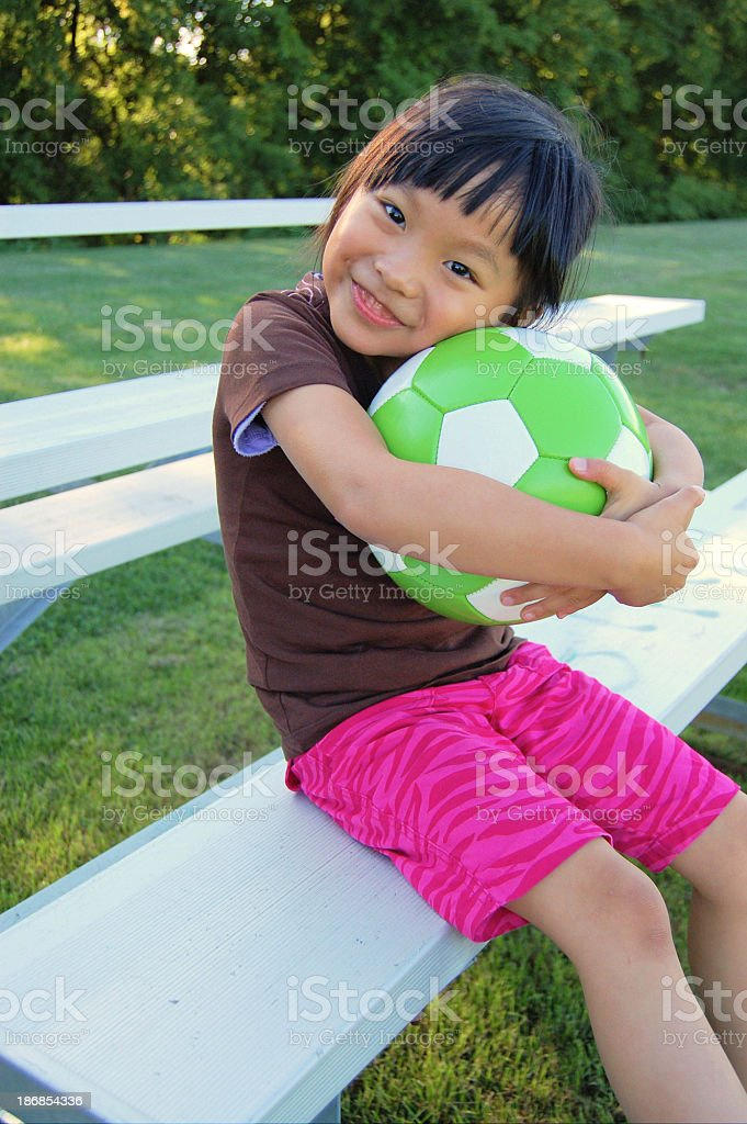 Passion for soccer royalty-free stock photo