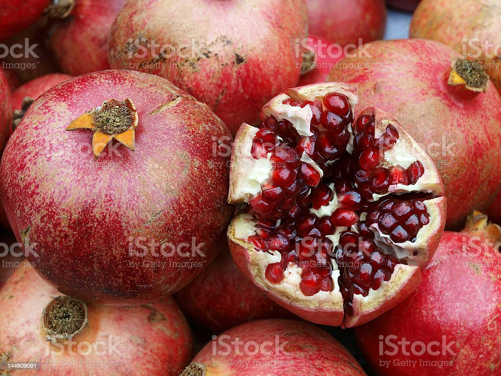 Passion fruit, close up royalty-free stock photo