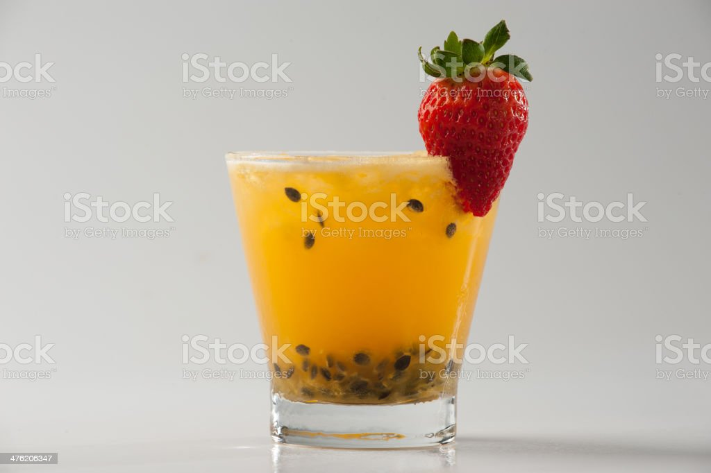Passion Fruit Cocktail #2 stock photo