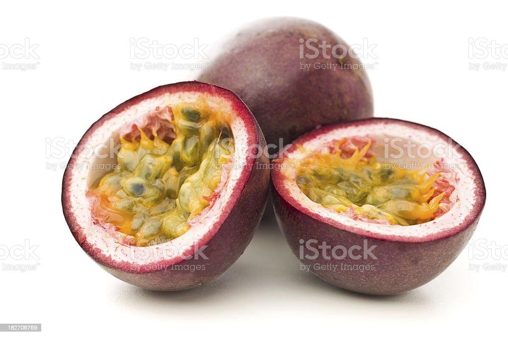 Passion fruit, Maracuya stock photo
