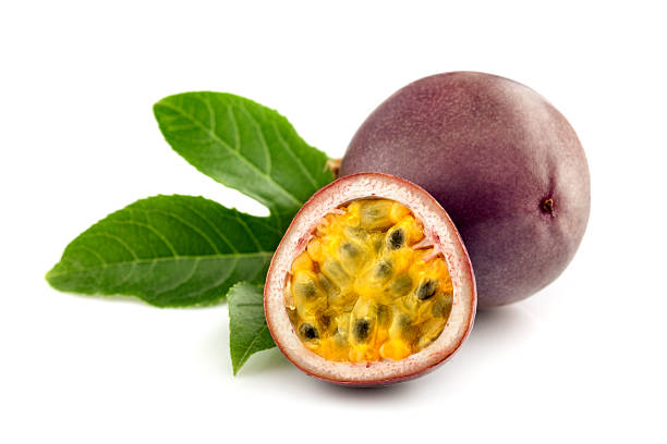 Passion fruit pictures images and stock photos istock - Fruit de la ronce commune ...