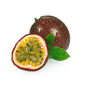 Passion Fruits + Leafs