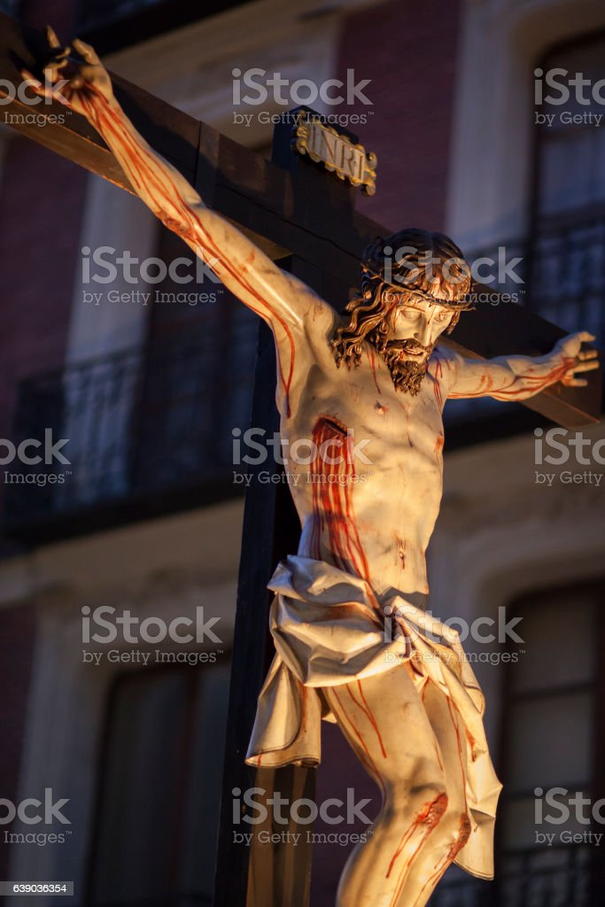 Passion Week in Spain stock photo