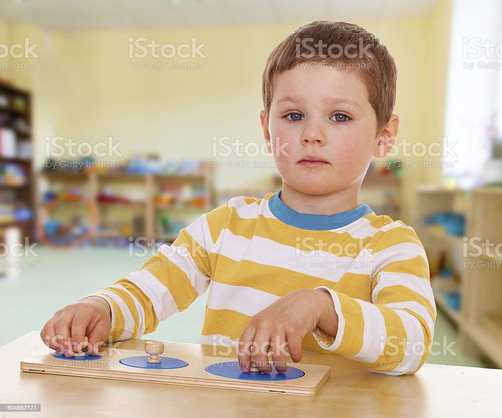 Passionné garçon photo libre de droits