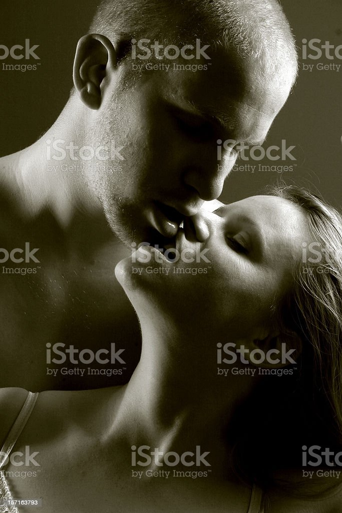 Passionate couple 2 royalty-free stock photo