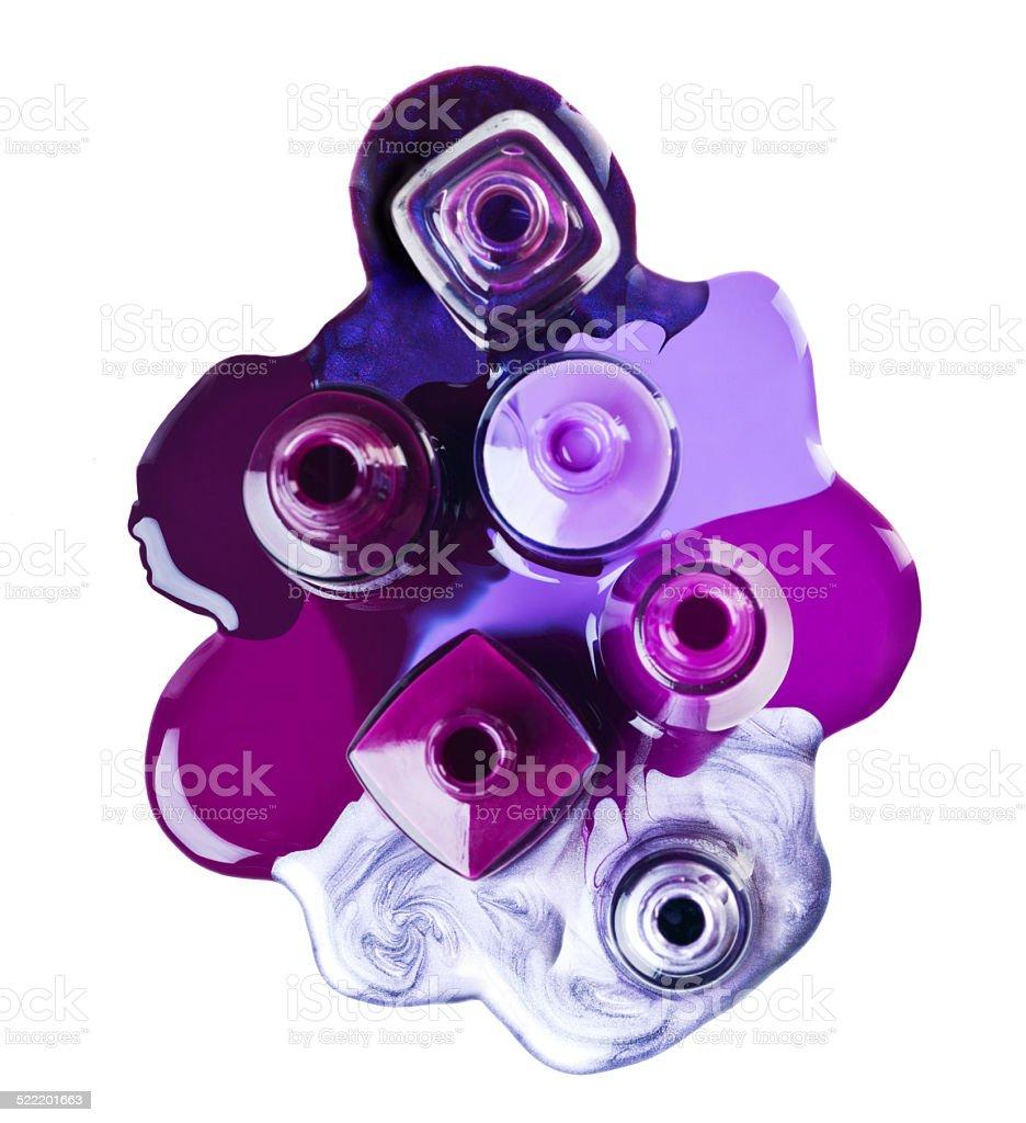 Passionate for purple stock photo