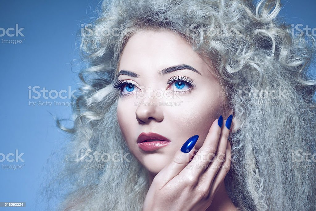passionate look stock photo