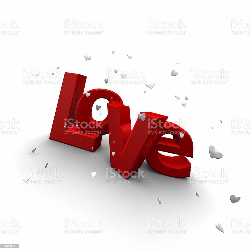 Passionate Love royalty-free stock photo