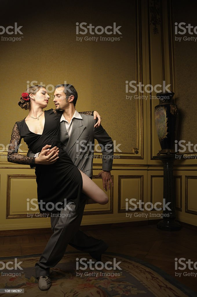Passionate Moment royalty-free stock photo