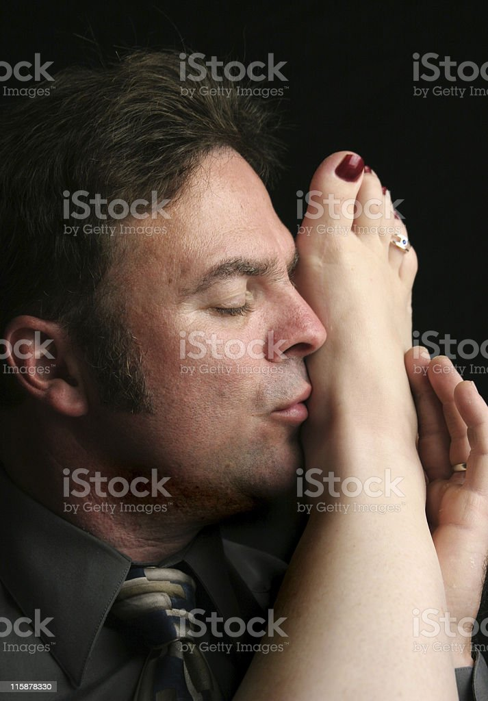 Passionate Moment stock photo