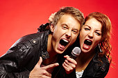 Passionate rock duet