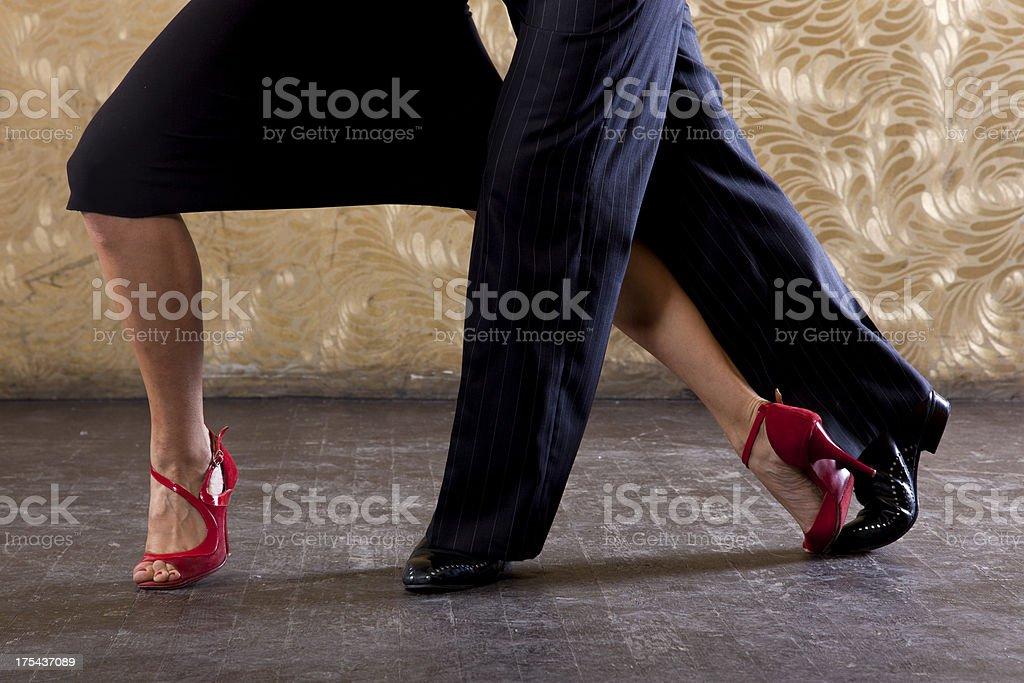 Passionate Tango stock photo