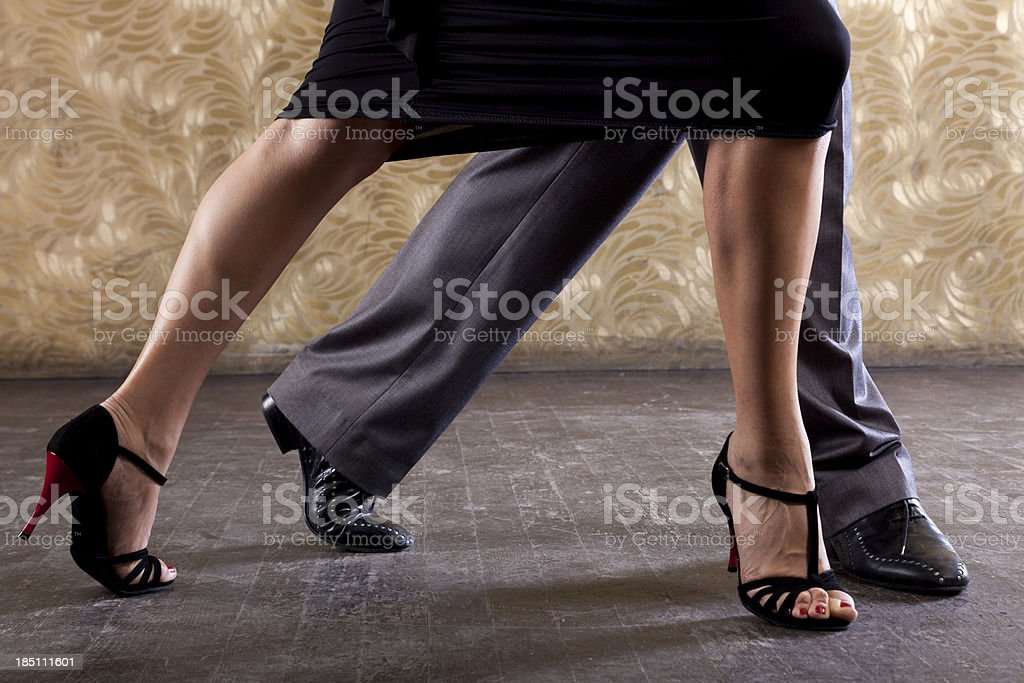 Passionate Tango stock photo