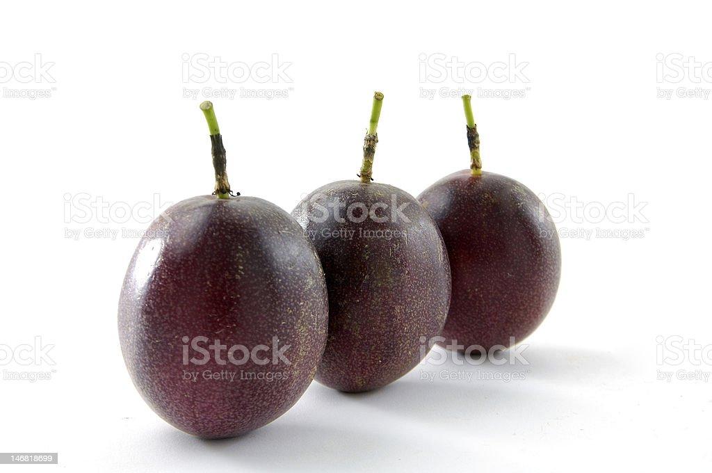 Passionfruit stock photo