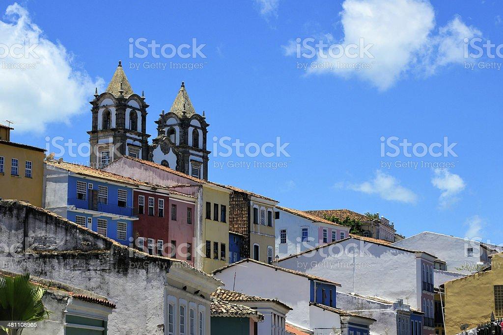 Passo church, Salvador da Bahia, Brazil stock photo