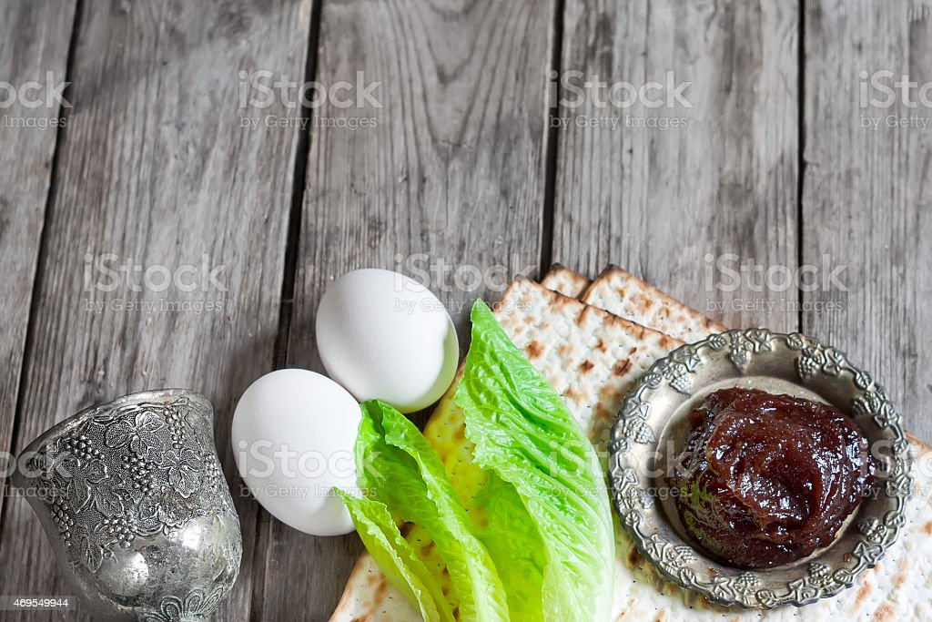 Passover background stock photo