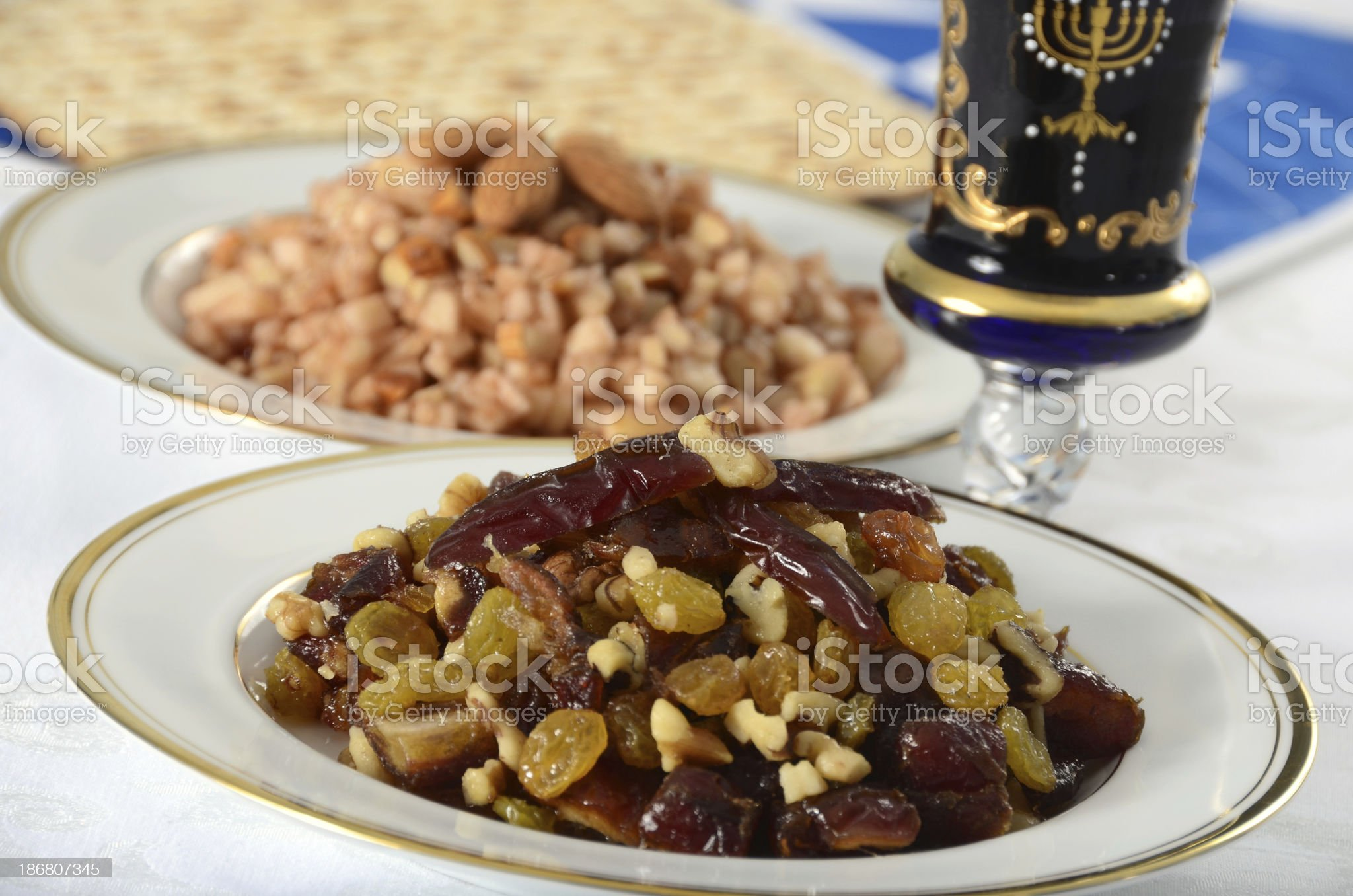 Passover Charoset royalty-free stock photo