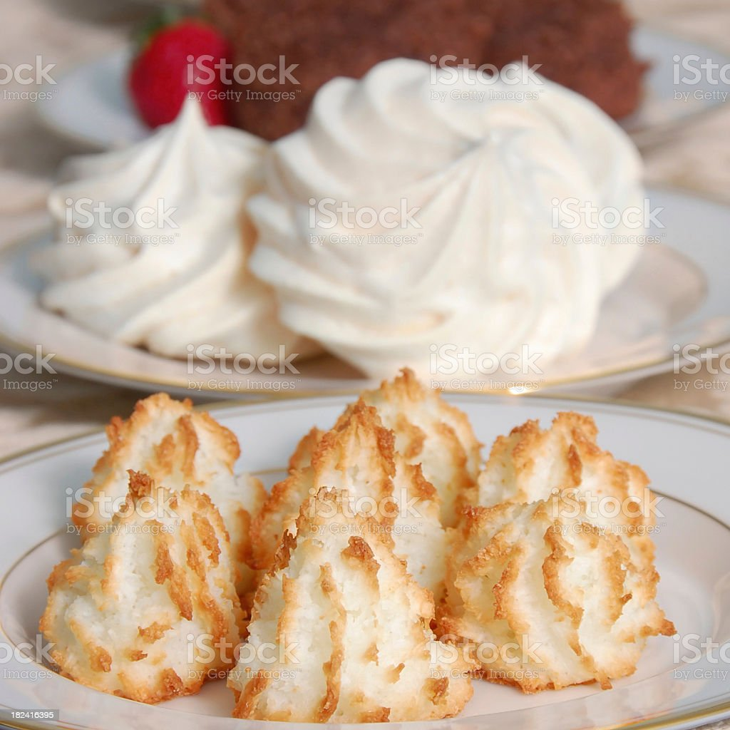 Passover Desserts royalty-free stock photo