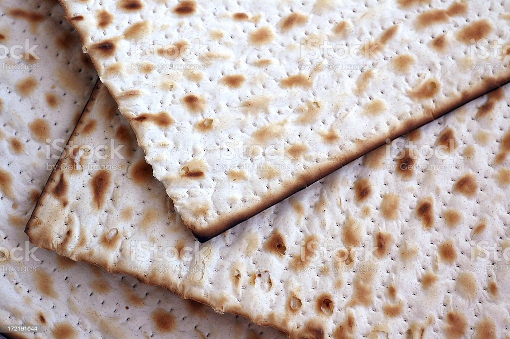 Passover Matzos royalty-free stock photo