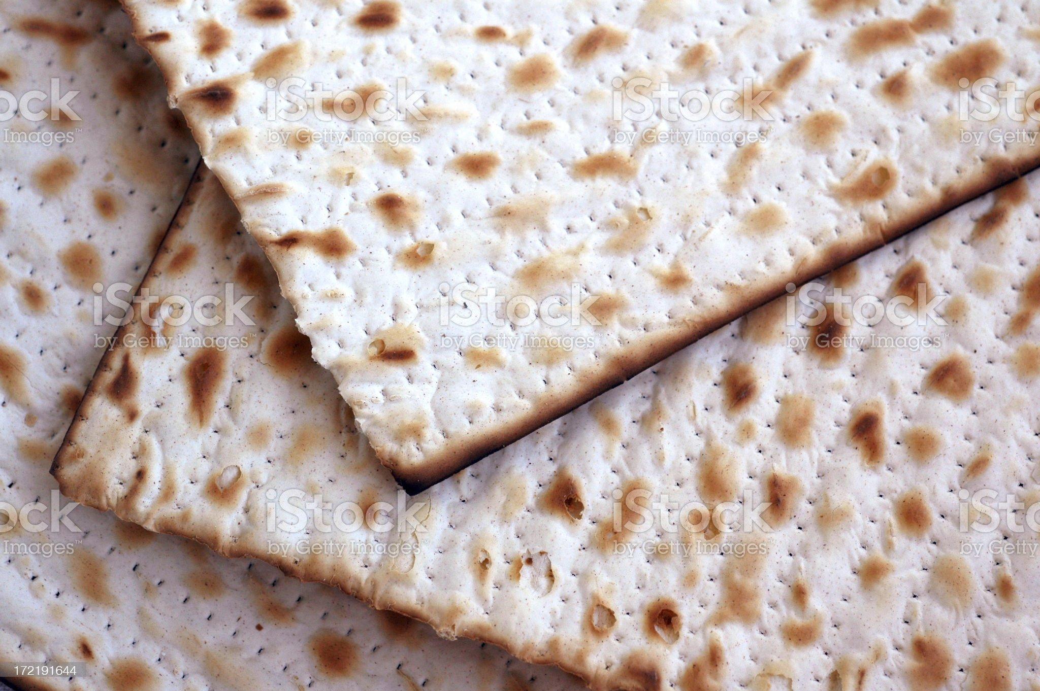 Passover Matzos royalty-free stock photo