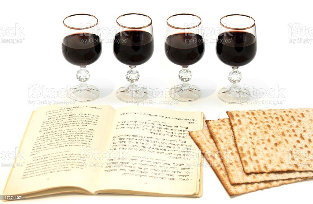 Passover meal stock photo