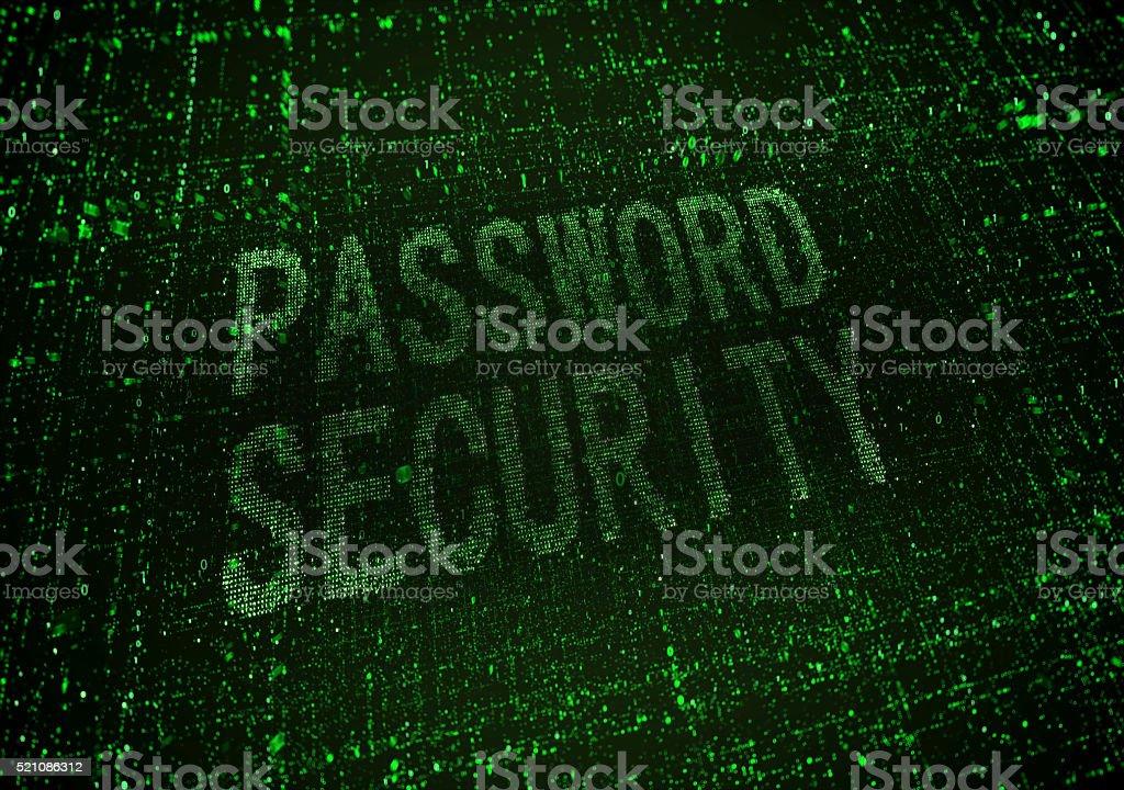 passowrd security stock photo