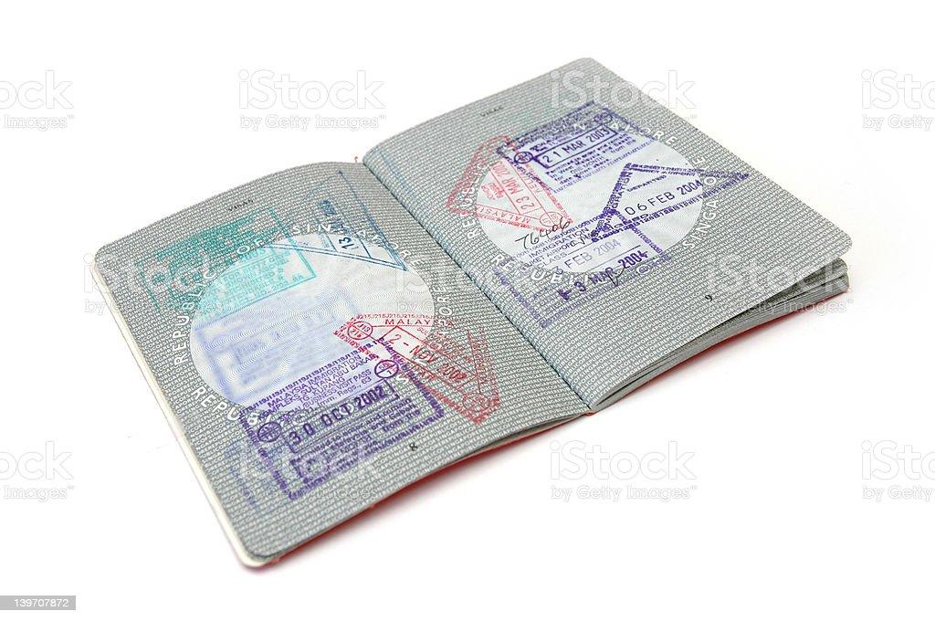 Passport 2 royalty-free stock photo