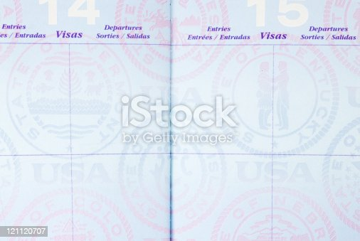 Us Passport Blank Pages stock photo 121120707 | iStock